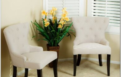 Living Room Accent Chair Set