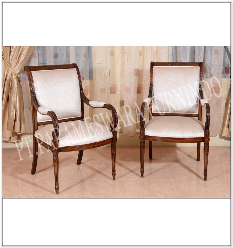 Living Room Chair Wood Antique Design