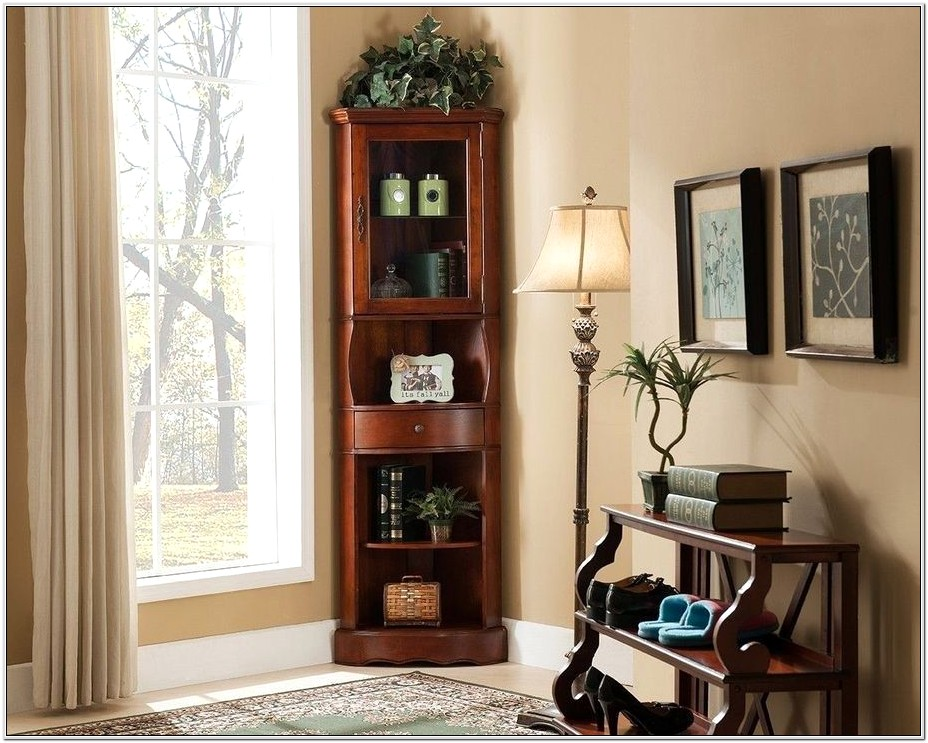 Living Room Corner Cabinet Ideas