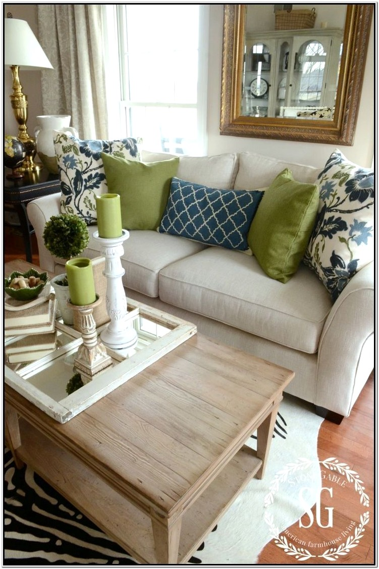 Living Room Couch Pillow Ideas