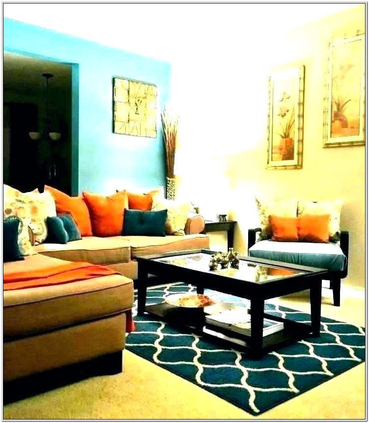 Living Room Decor Turquoise And Yellow