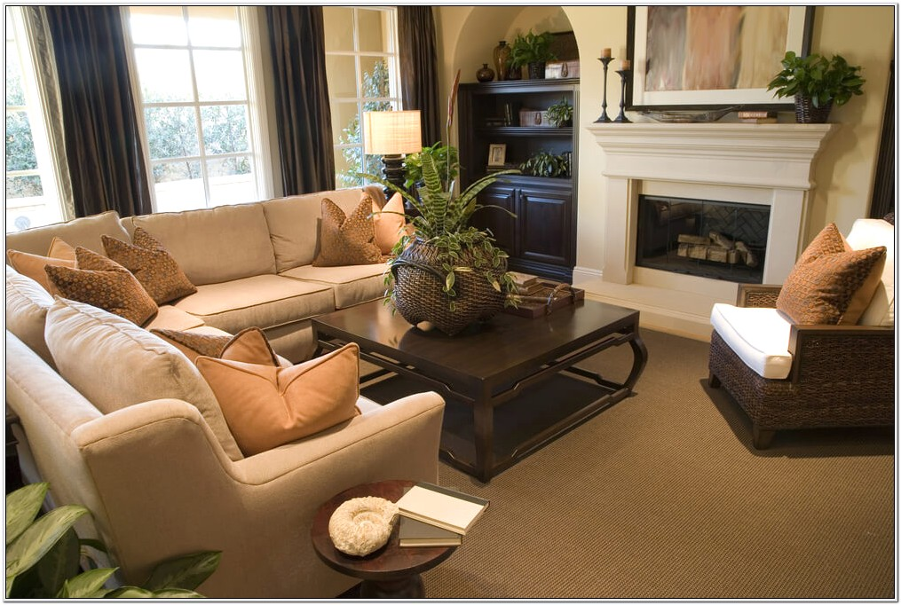 Living Room Decorating Ideas With Brown Sectional