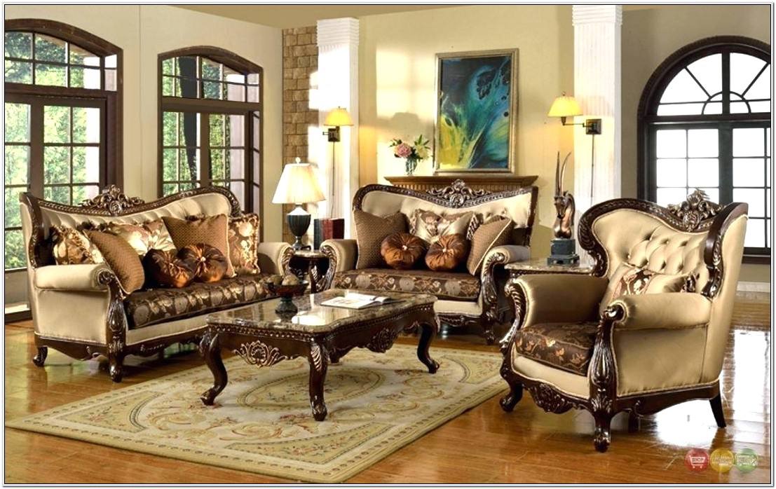 Living Room Decorating With Antiques