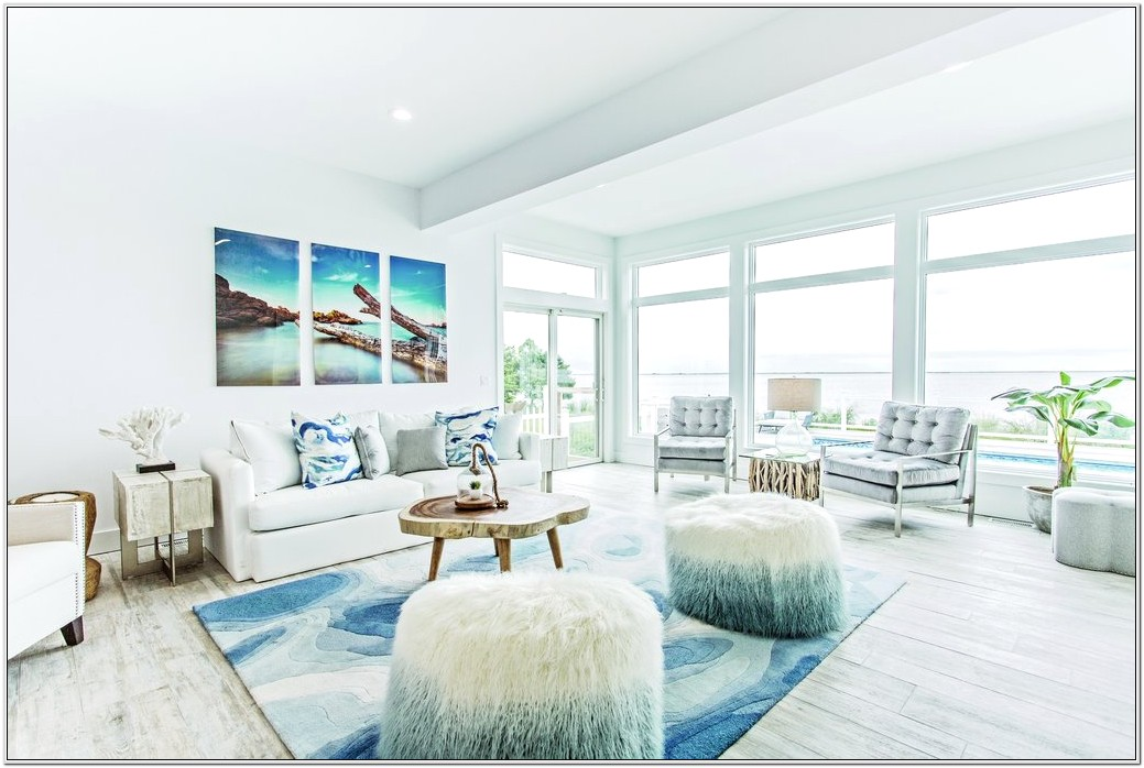 Living Room Design Beach House