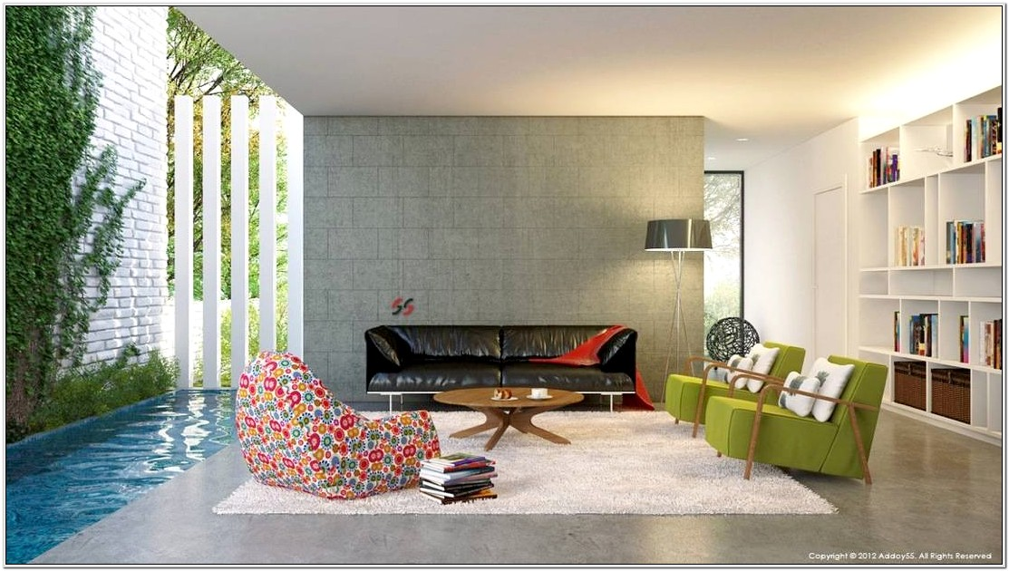 Living Room Design Contemporary Style