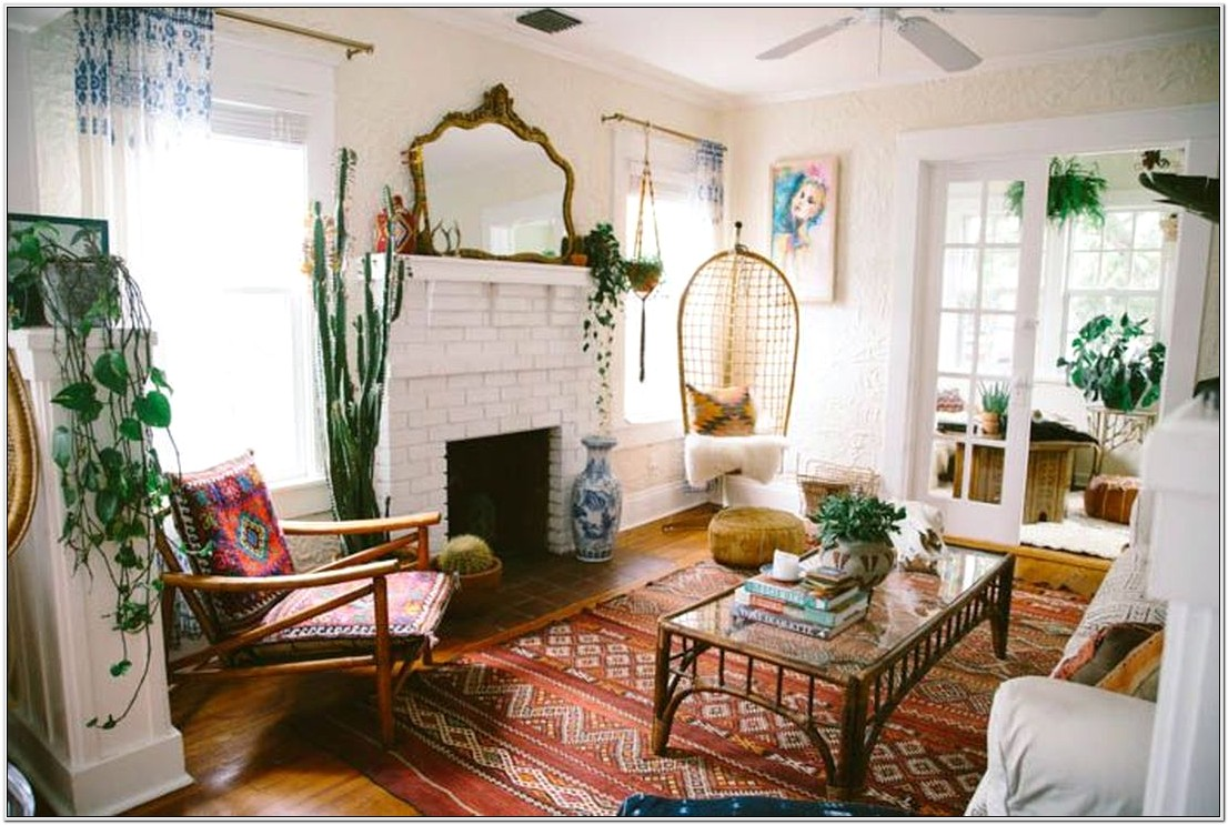 Living Room Design Ideas Bohemian