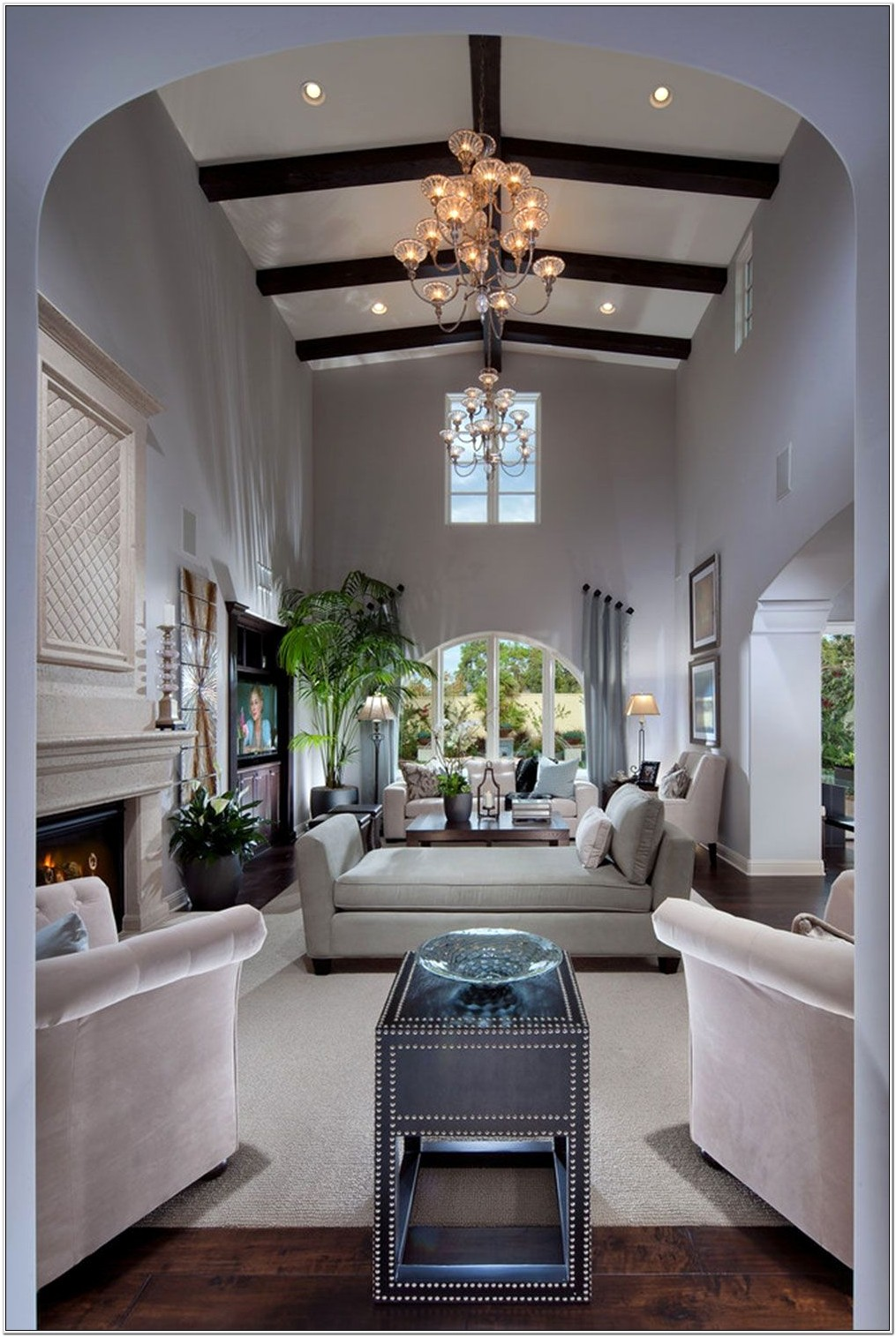 Living Room Focal Point Ideas No Fireplace