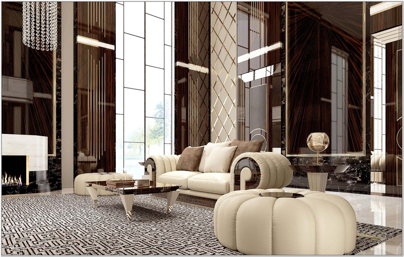 Living Room Furniture Contemporary Design