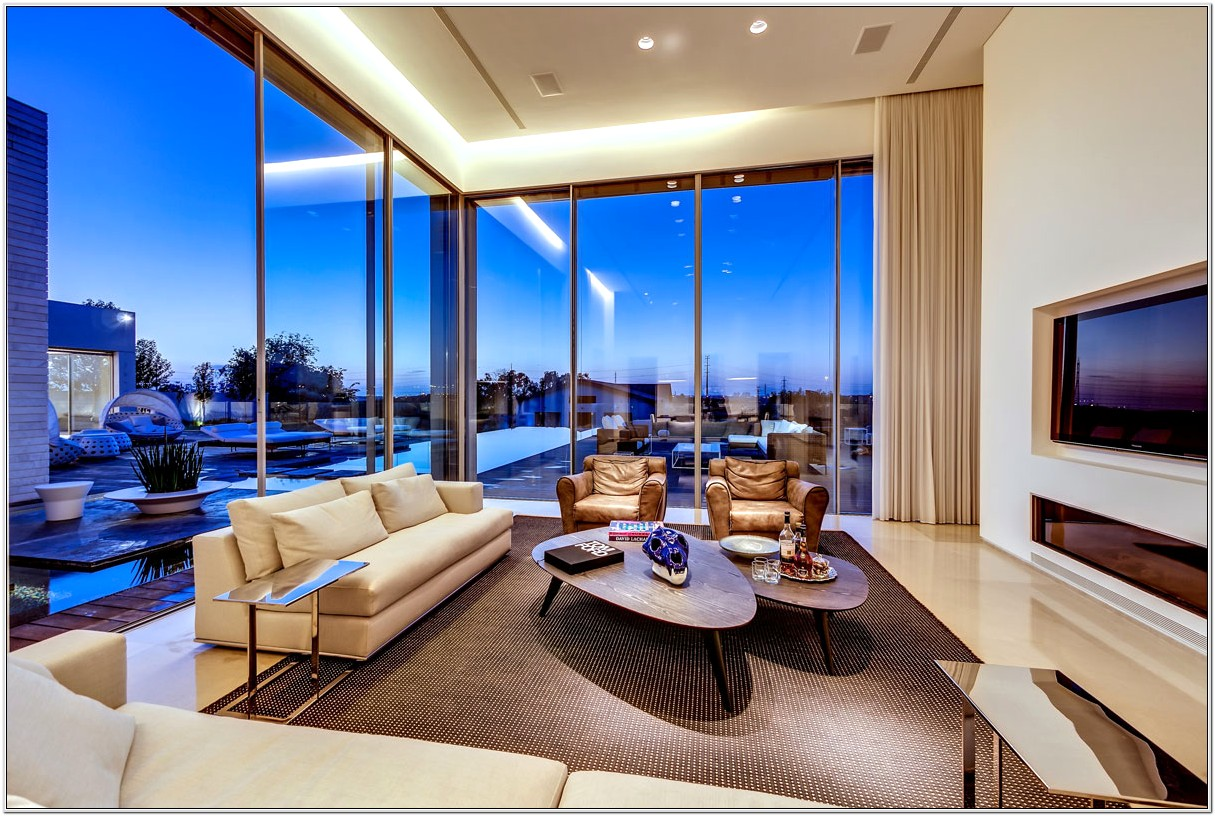 Living Room Glass Design