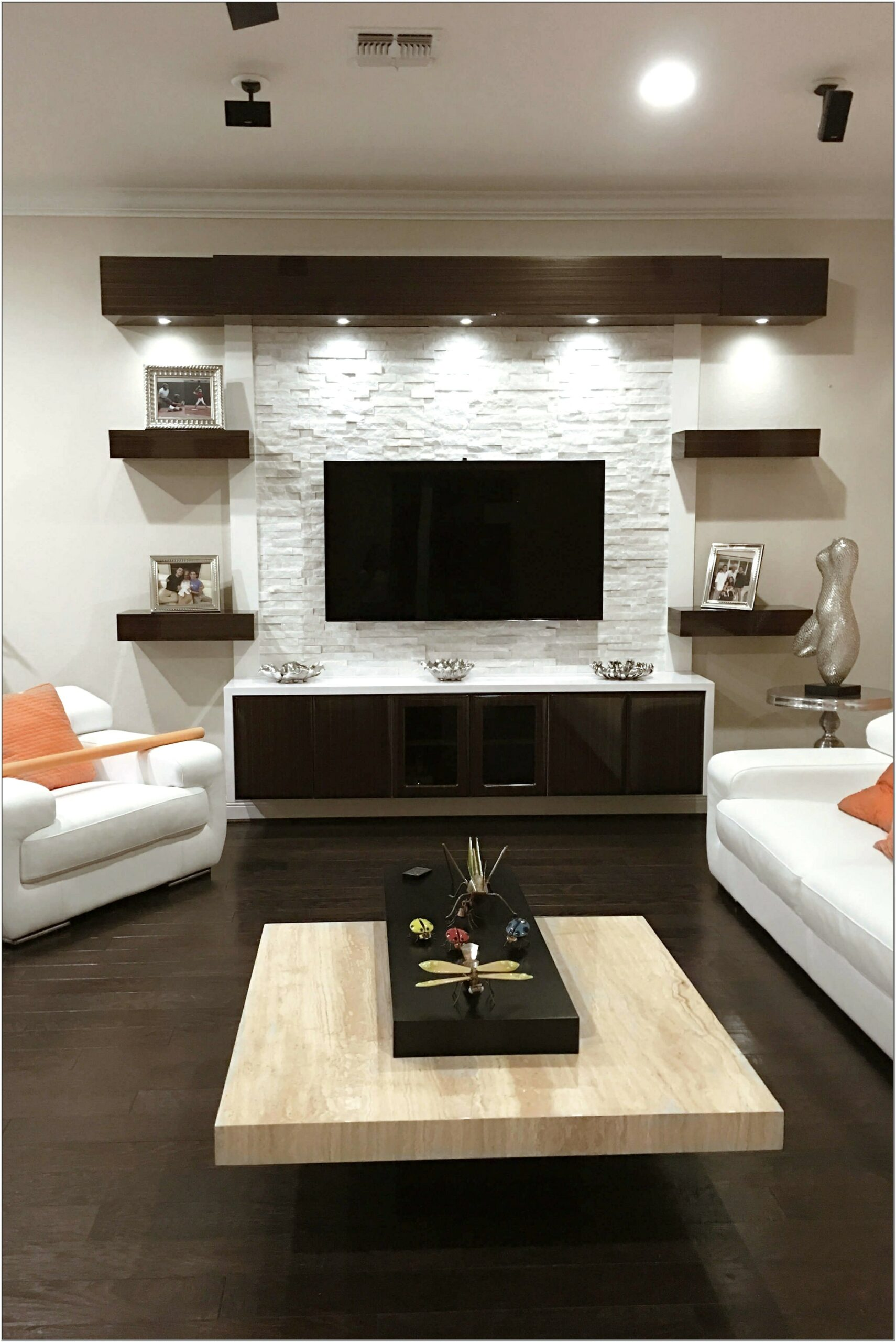 Living Room Home Entertainment Ideas