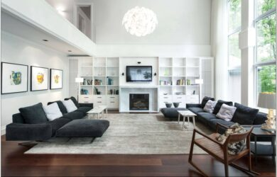 Living Room Ideas For Large Spaces