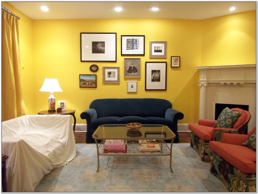 Living Room Ideas For Yellow