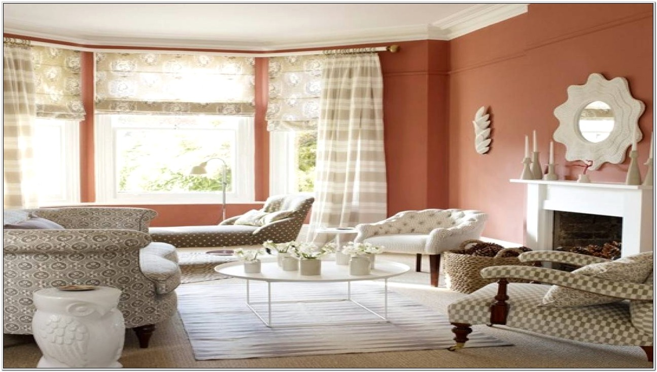 Living Room Ideas Terracotta