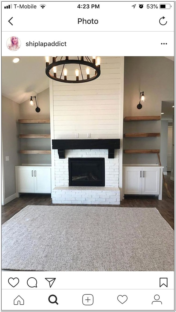 Living Room Ideas Vaulted Ceilign Fireplace