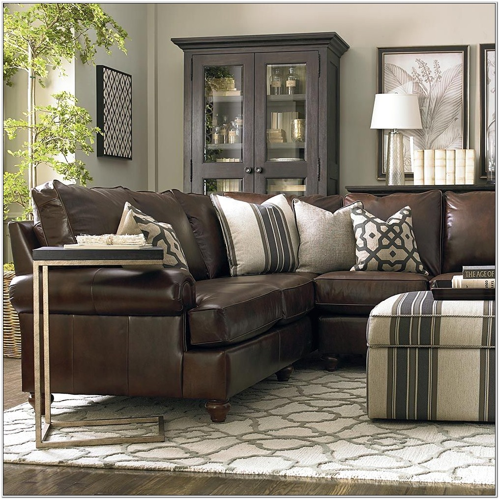 Living Room Ideas With Brown Leathe