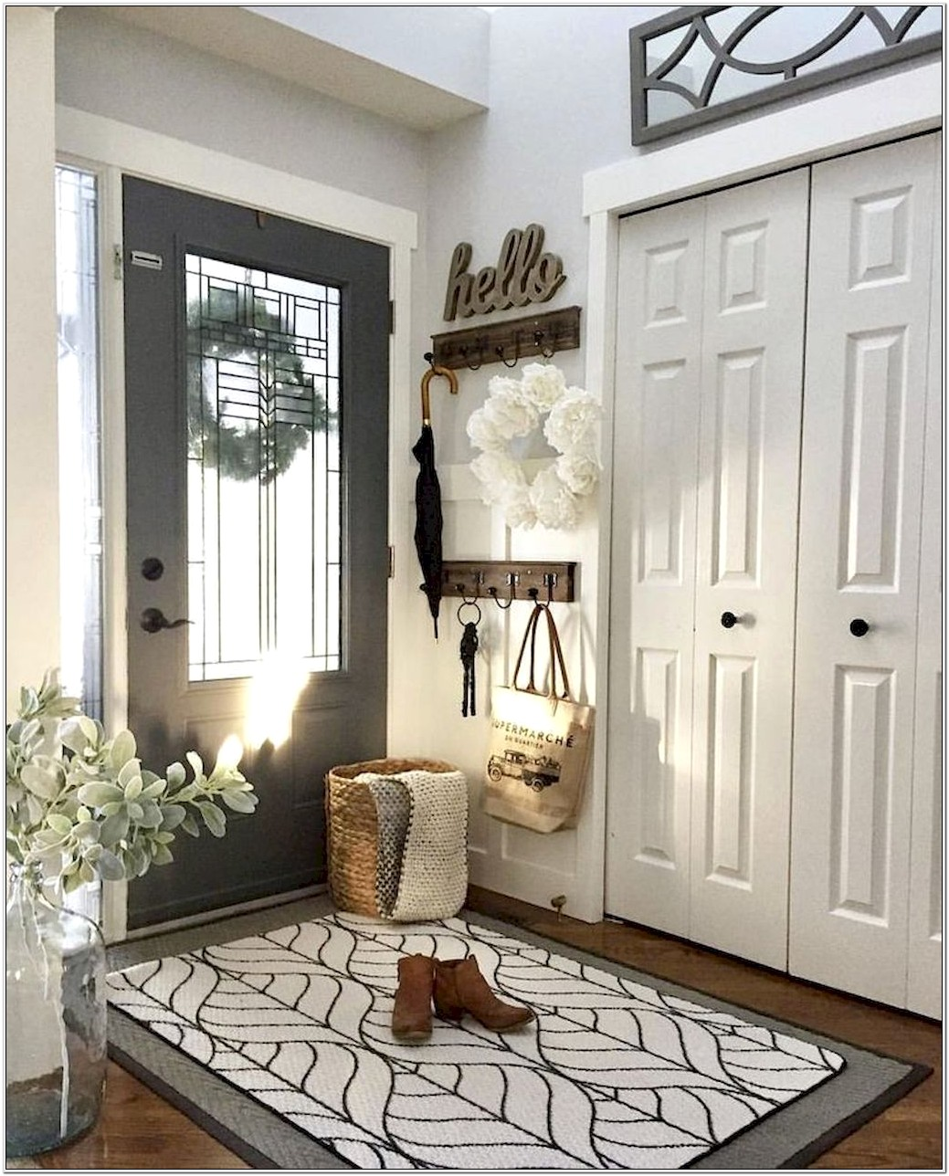 Living Room Ideas With Entryway