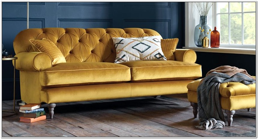 Living Room Ideas With Gold Couches