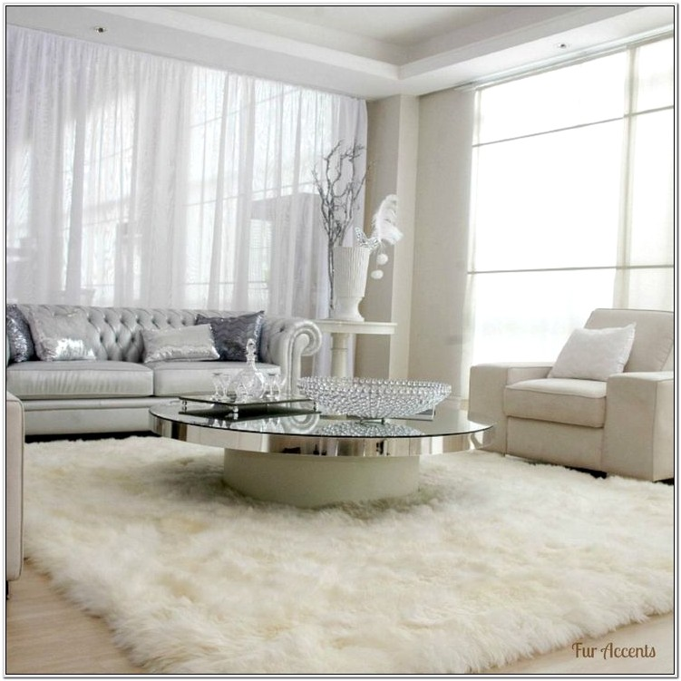 Living Room Ideas With Shag Area Rugs