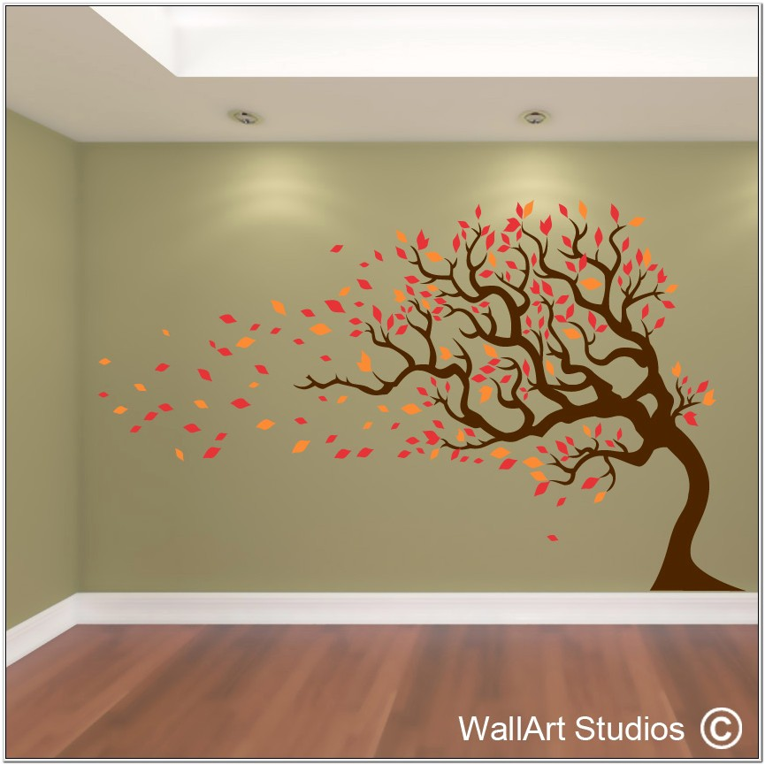 Living Room Ideas With Trees