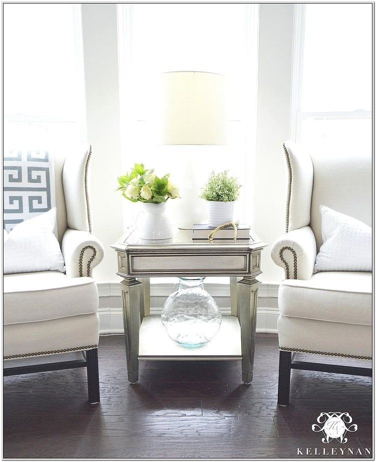 Living Room Ideas With Wingback Chairs