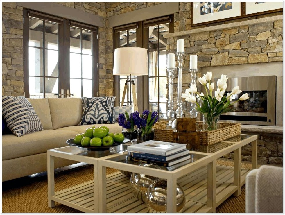 Living Room Ideas Wood Coffee Table