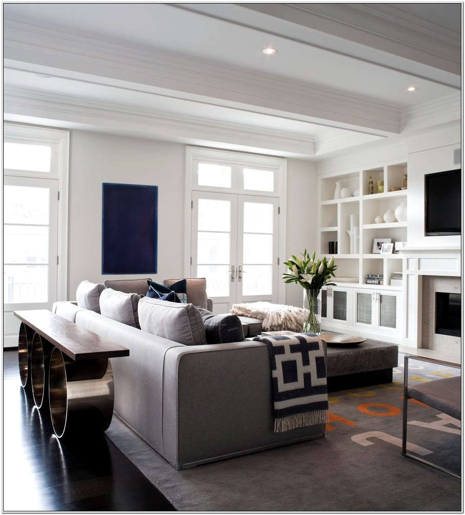 Living Room Media Console Ideas