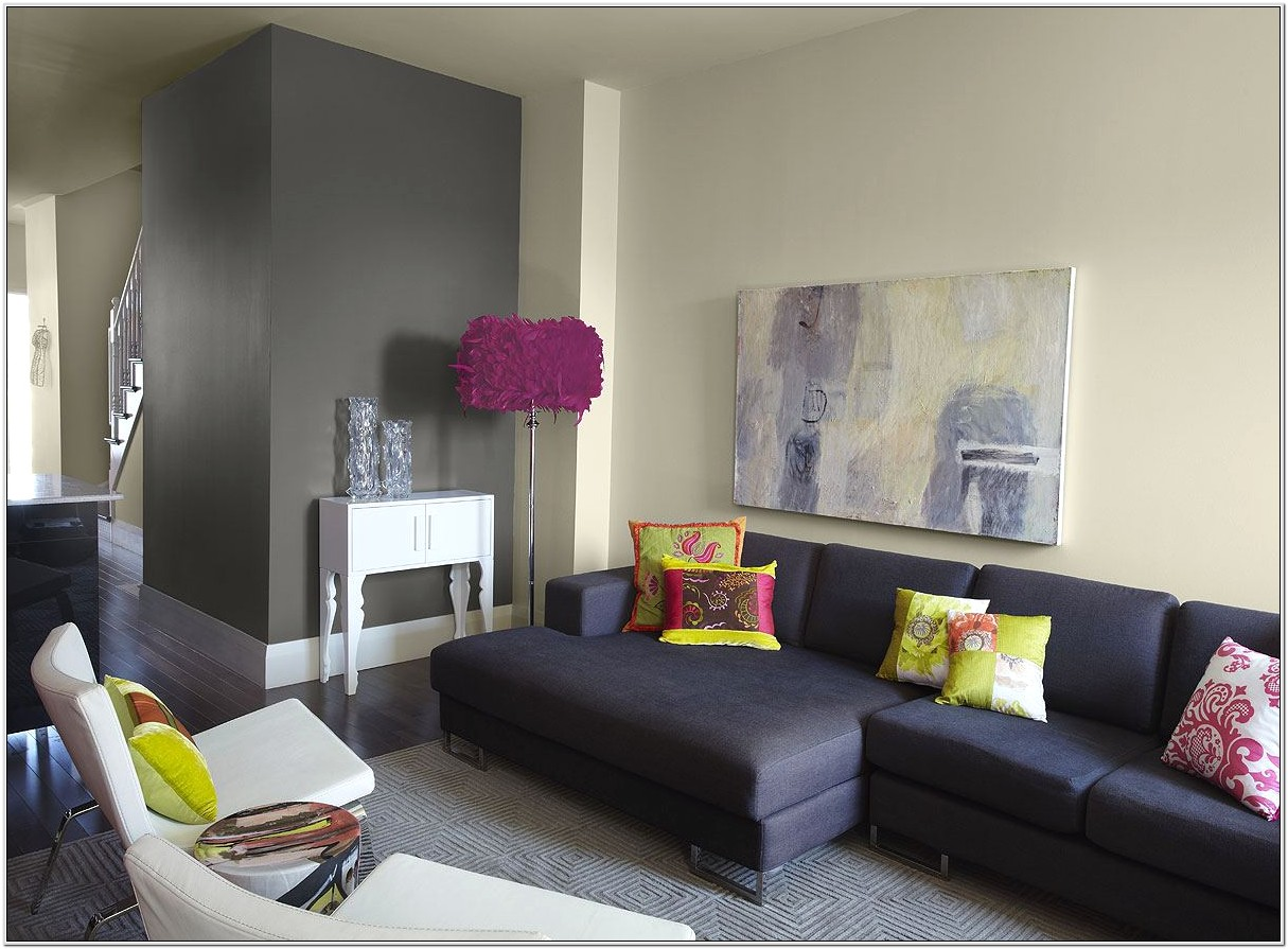 Living Room Paint Ideas With White Furniture