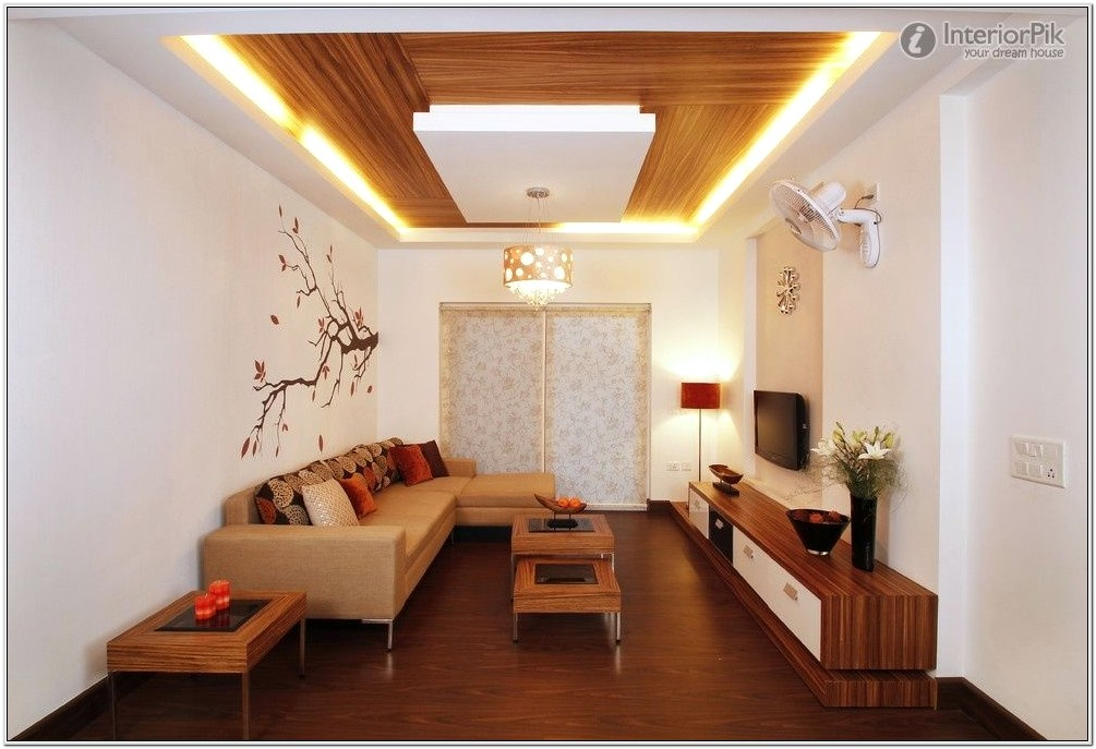 Living Room Simple False Ceiling Designs