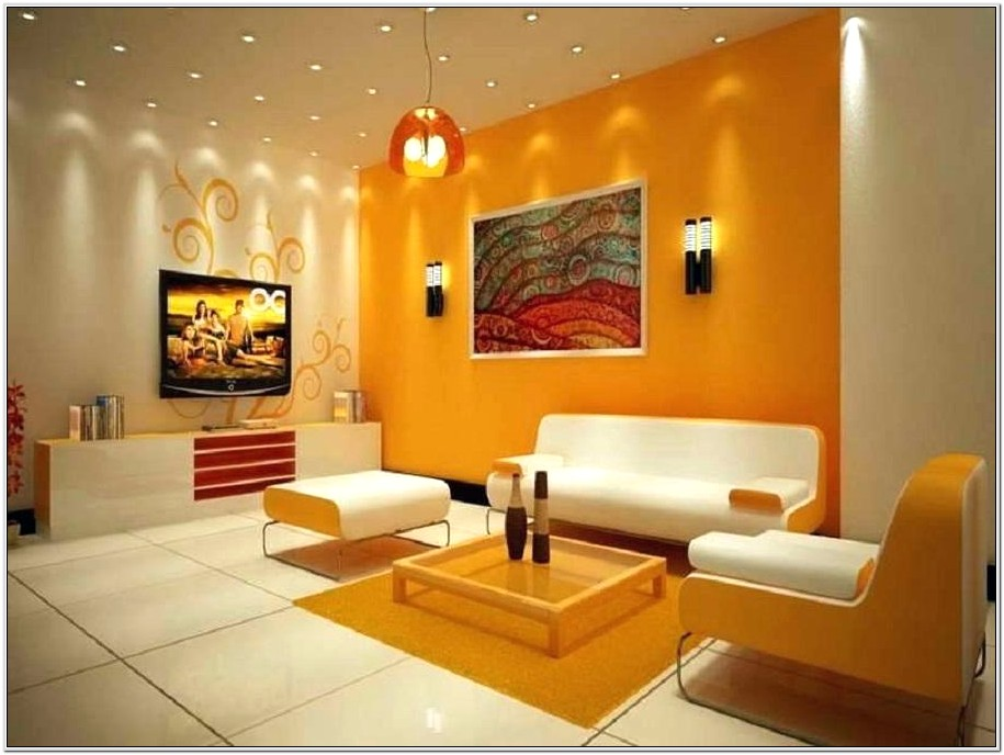 Living Room Stone Wall Paint Ideas