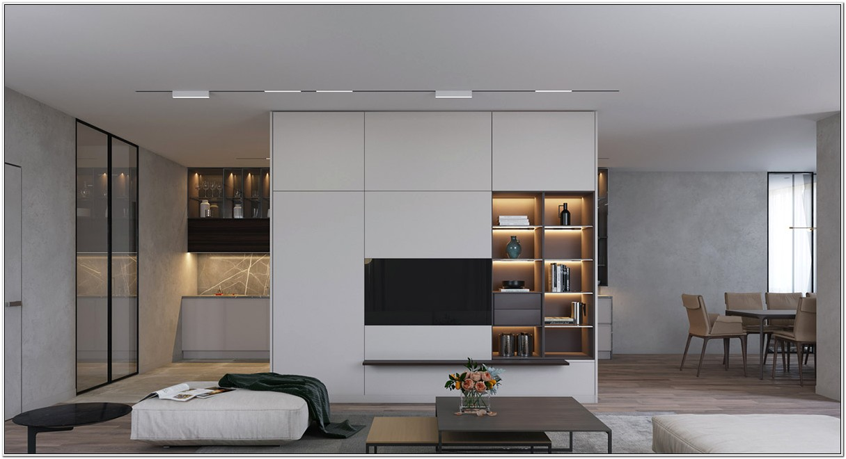 Living Room Wall Designs To Put Lcd