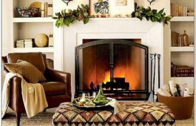 Living Room With Fireplace Spaces Ideas