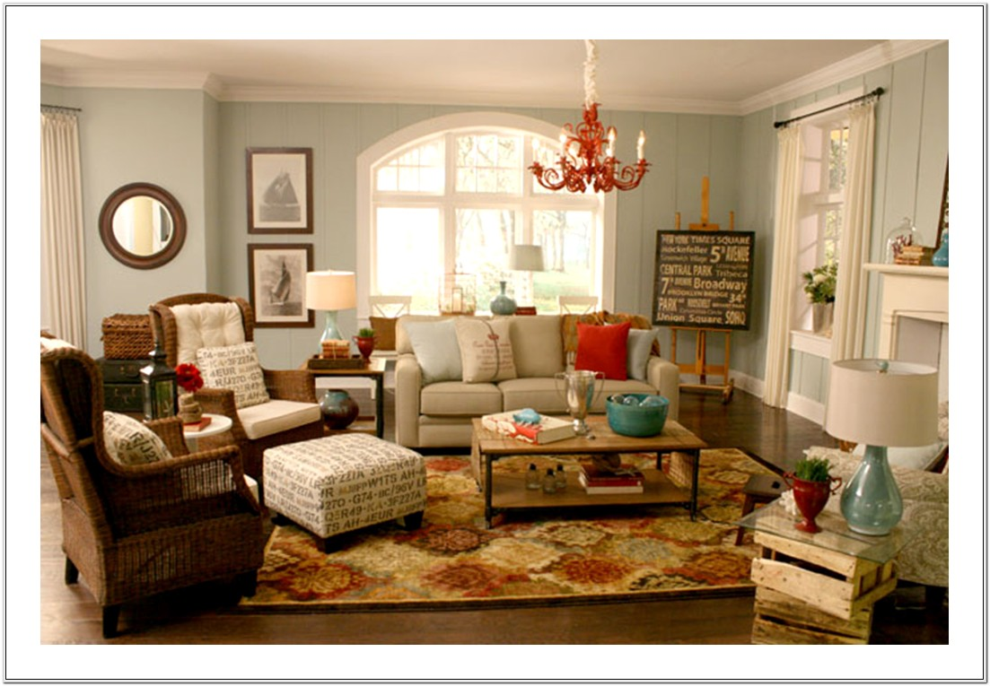 Luxury Vintage Living Room Decor