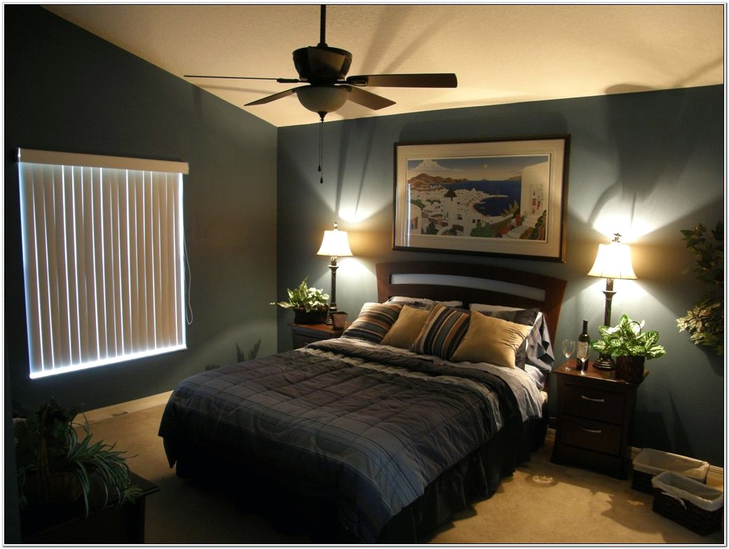 Masculine Romantic Bedroom Decoration Red