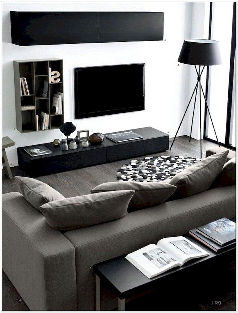 Masculine Small Living Room Ideas