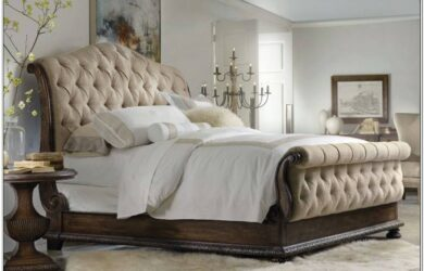 Master Bedroom Decorating Ideas With Sleigh Bed