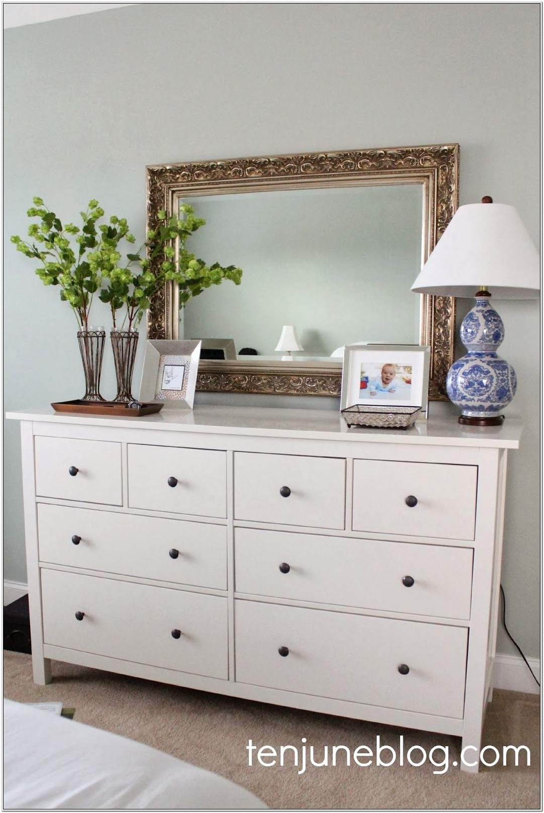 Master Bedroom Dresser Decor