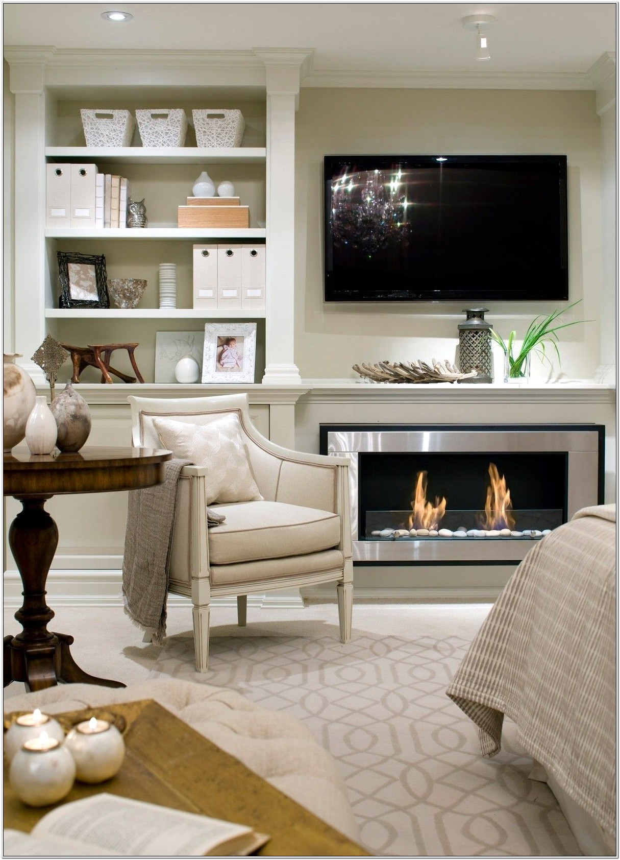 Master Bedroom Fireplace Decorating Ideas