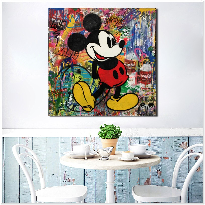 Mickey And Minnie Bedroom Decoration