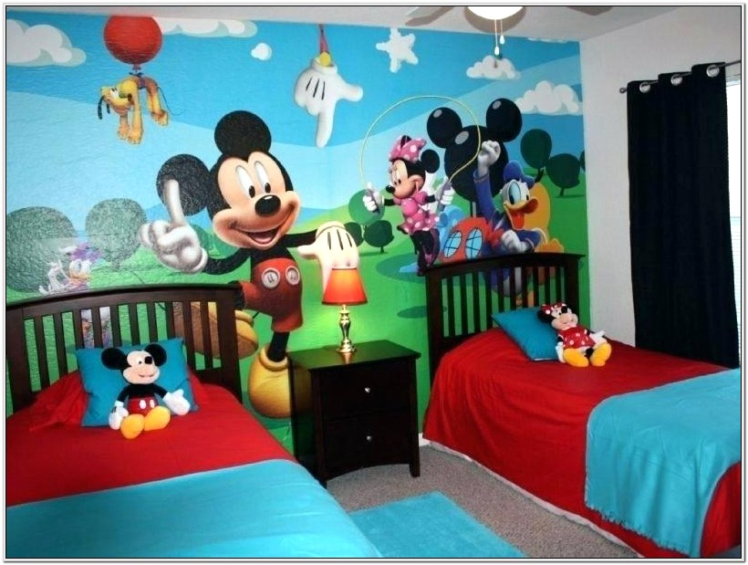 Mickey Mouse Clubhouse Bedroom Decorating Ideas