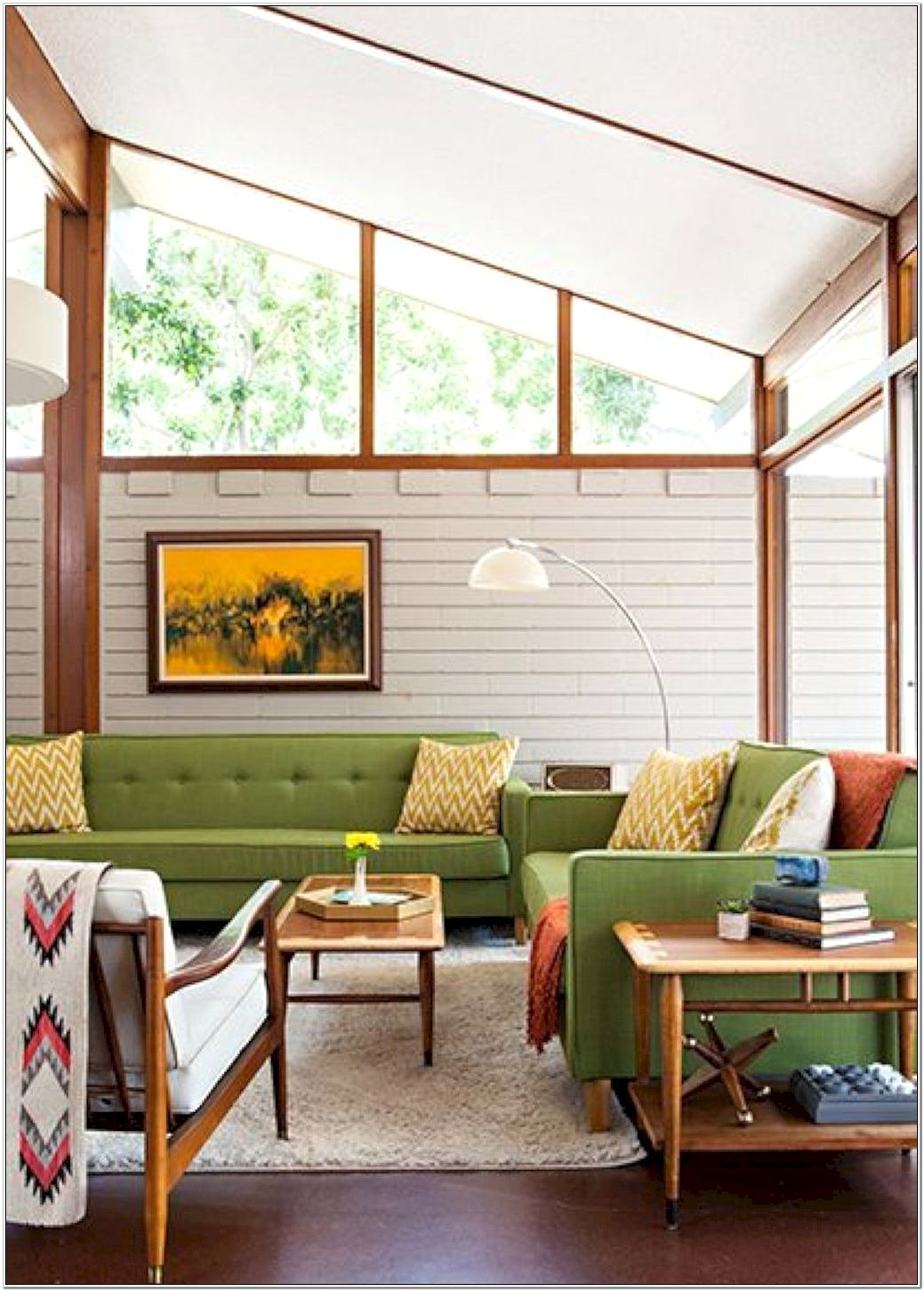 Mid Century Living Room Decor Ideas