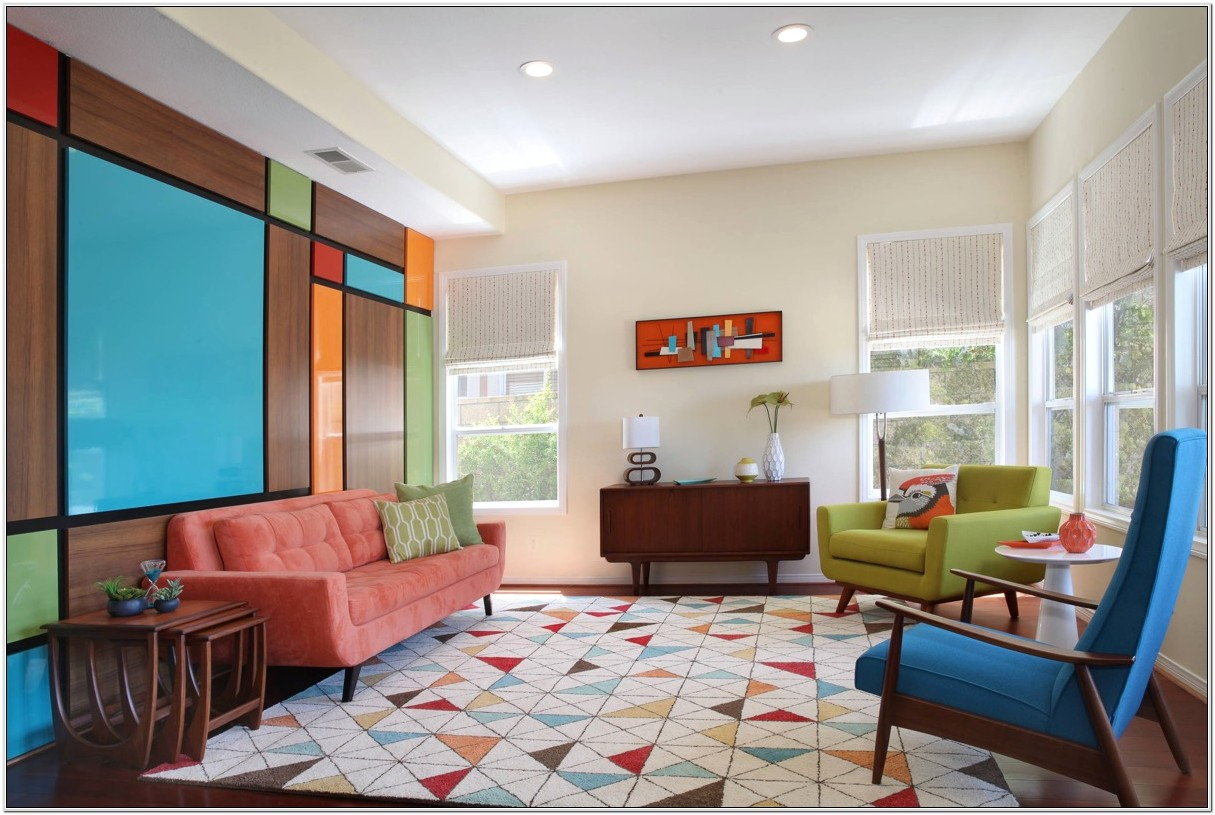 Mid Century Modern 60s Living Room Ideas