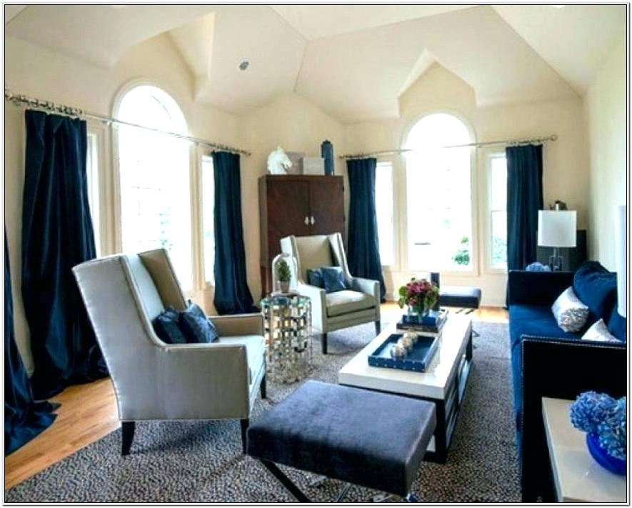 Mocha And Blue Living Room Ideas