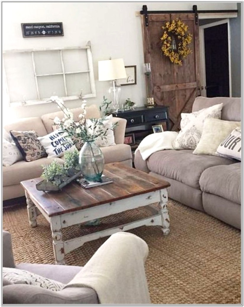 Modern Farmhouse Style Living Room Ideas