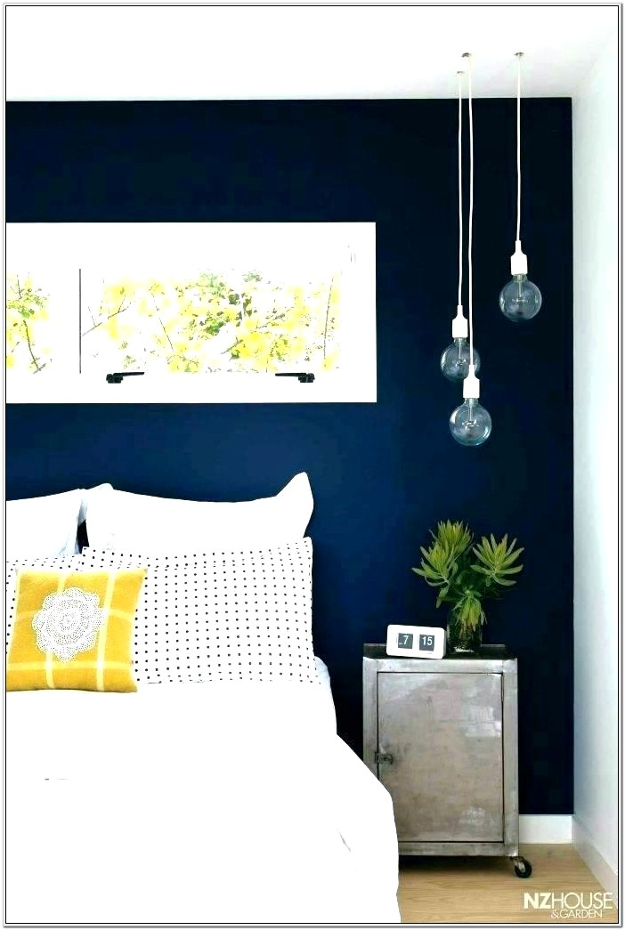 Navy And Yellow Living Room Ideas