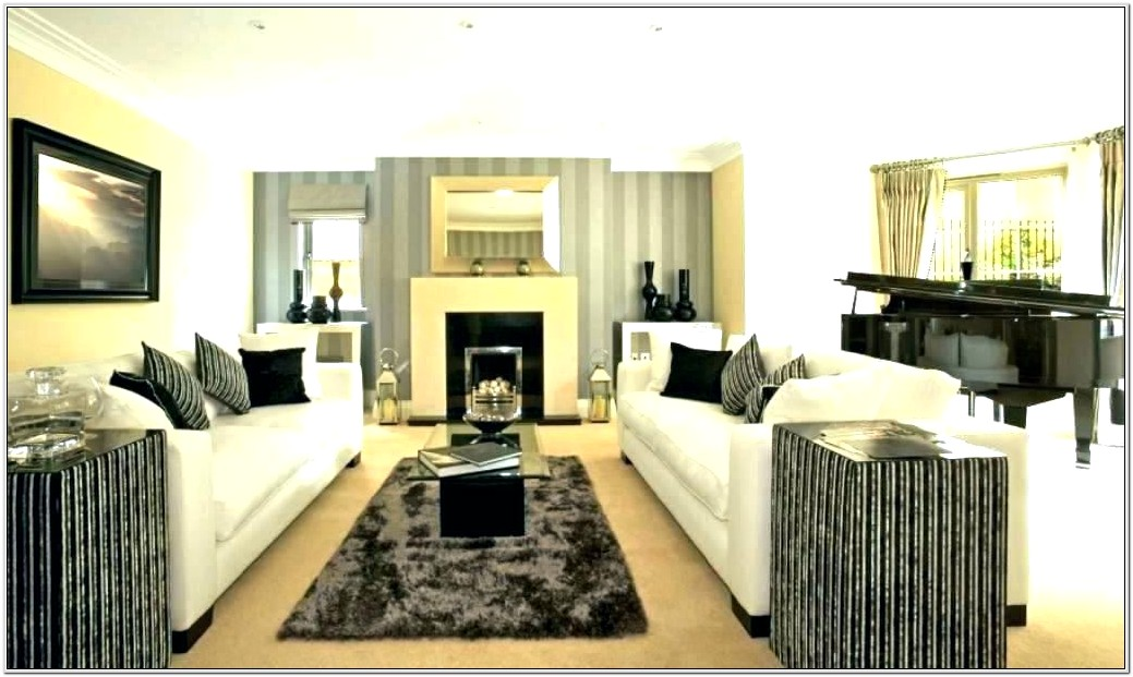 Rectangle Living Room Decorating Ideas