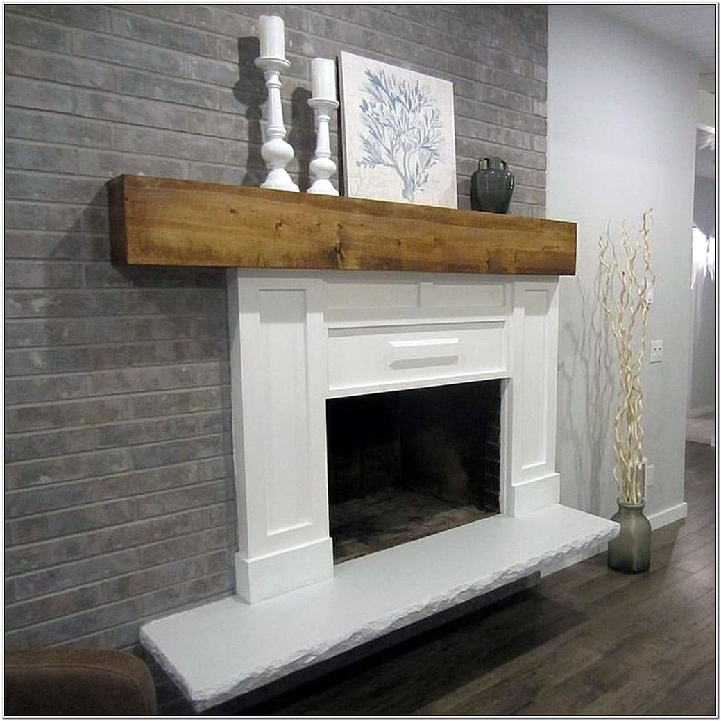 Red Brick Fireplace Living Room Ideas