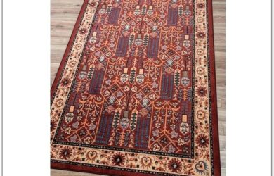 Red Persian Rug Living Room Ideas