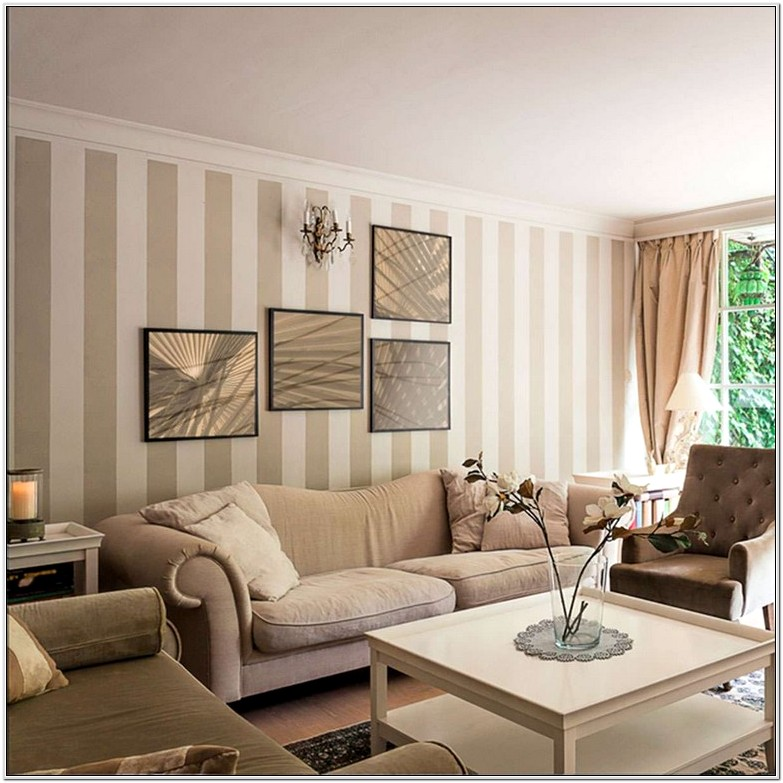 Taupe And White Living Room Ideas