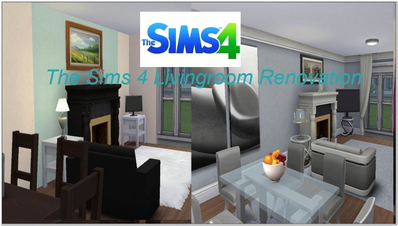 The Sims 4 Living Room Ideas