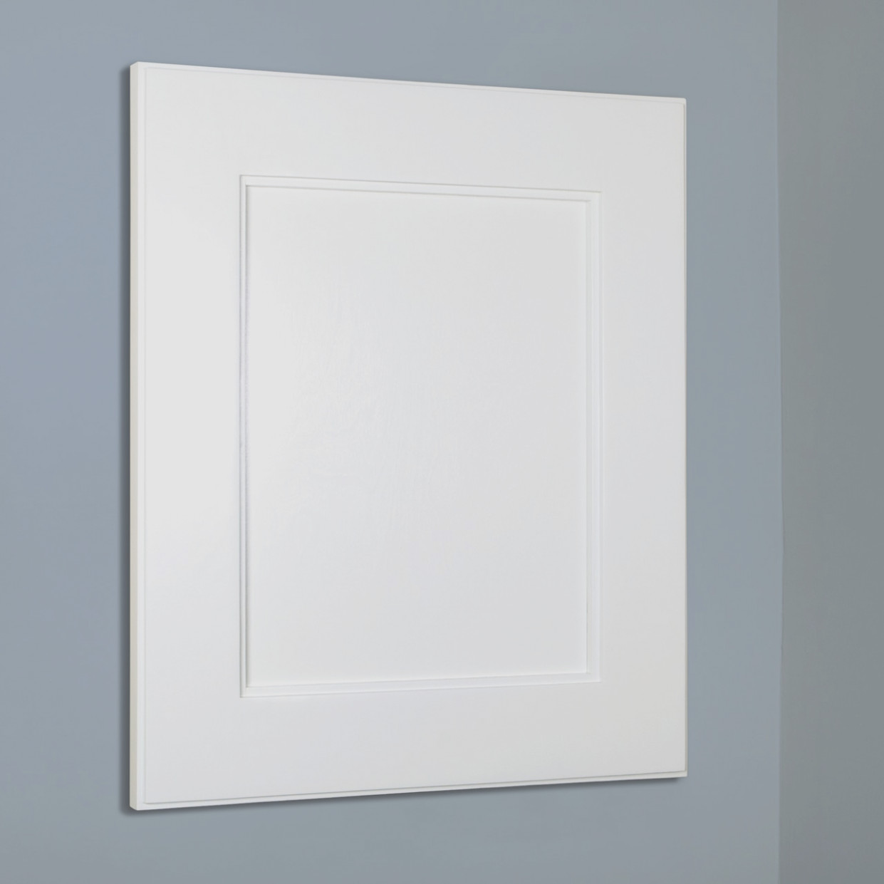 1x1 Recessed Medicine Cabinet With Mirror